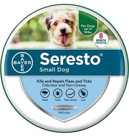 BAYER HEALTHCARE Seresto Flea & Tick Collar for Dogs, up to 18 lbs