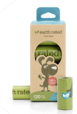 Earth Rated Earth Rated Poop Bag - Unscented  8 ROLL Box 120 CT