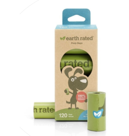 Earth Rated Earth Rated Poop Bag - Unscented  8 ROLL Box