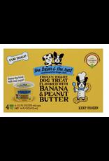 Bear and The Rat The Bear & The Rat Frozen Yogurt, Banana & Peanut Butter  4 pk (3.5 oz)