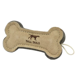 Tall Tails NATURAL LEATHER BONE TOY