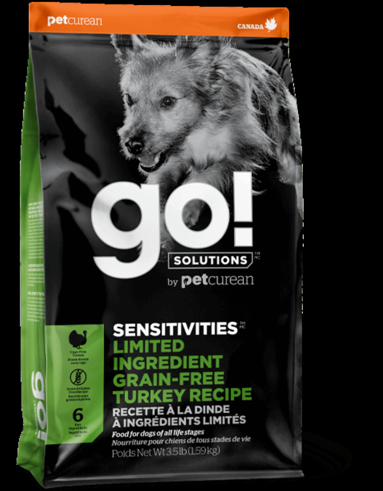 GO! GO! - Sensitive LID GF Turkey Dog