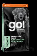GO! GO! - Skin & Coat Turkey w/ Grain Dog