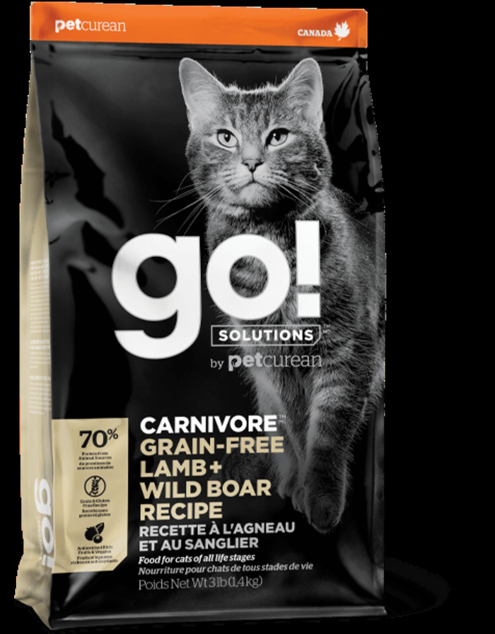 GO! GO! - Carnivore Lamb & Wild Boar Cat