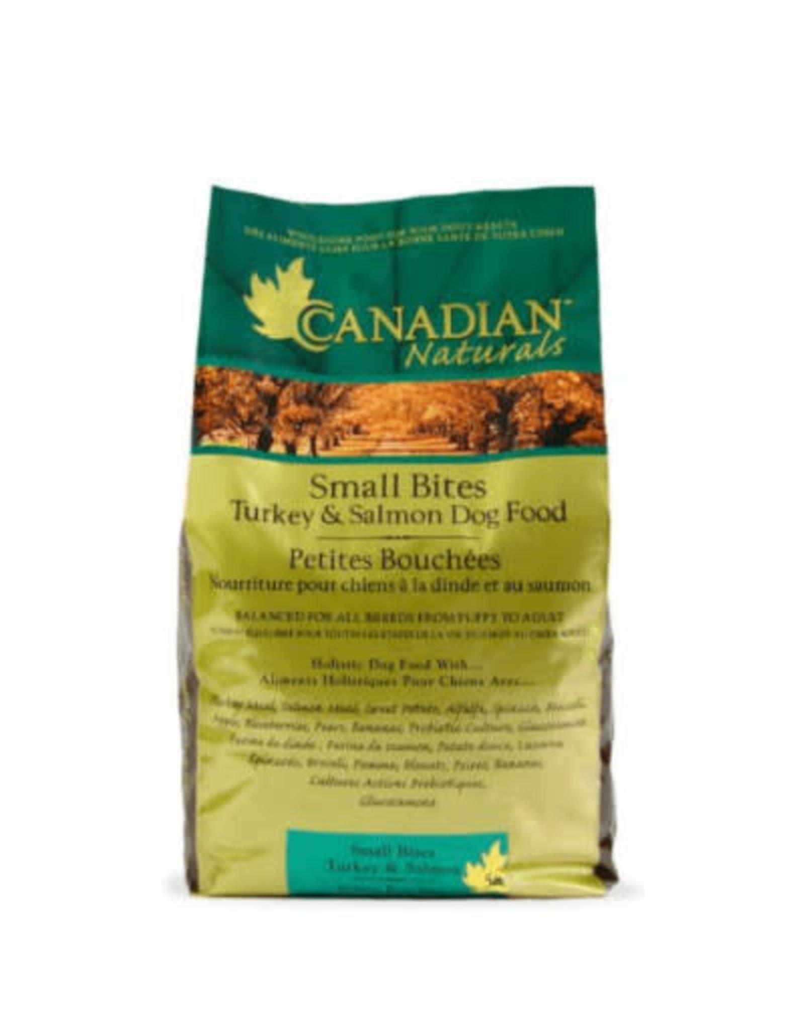 Canadian Naturals Canadian Naturals - Turkey Salmon Small Bites Dog