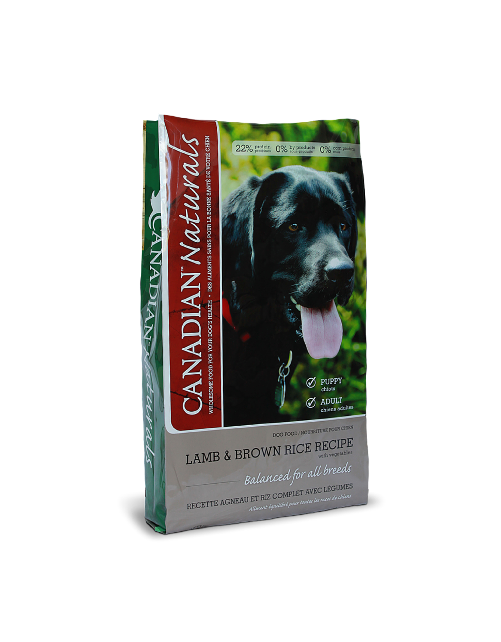Canadian Naturals Canadian Naturals - Lamb & Brown Rice Dog