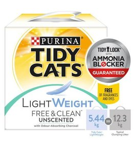 Tidy Cat Tidy Cat - Lightweight Free & Clean Unscented 5.44kg