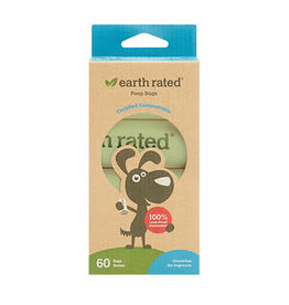 Earth Rated Earth Rated - Compostable Refill Bags - 4 Rolls 60 Bags