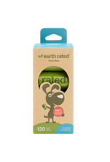 Earth Rated Earth Rated - Refill Bags 8 Rolls 120 Bags