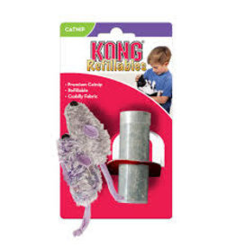 Kong Kong - Mouse Catnip Refillable 2pk