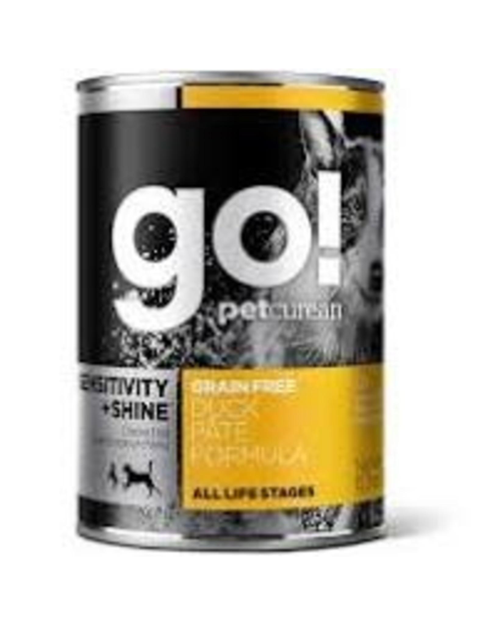 GO! Go! - Sensitive + Shine Duck Pate Dog 13.2oz