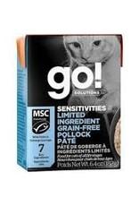GO! Go! - Sensitive LID GF Pollock Pate Cat 6.4oz