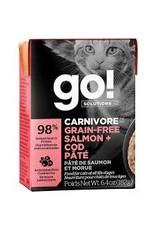 GO! Go! - Carnivore Salmon & Cod Pate Cat 6.4oz