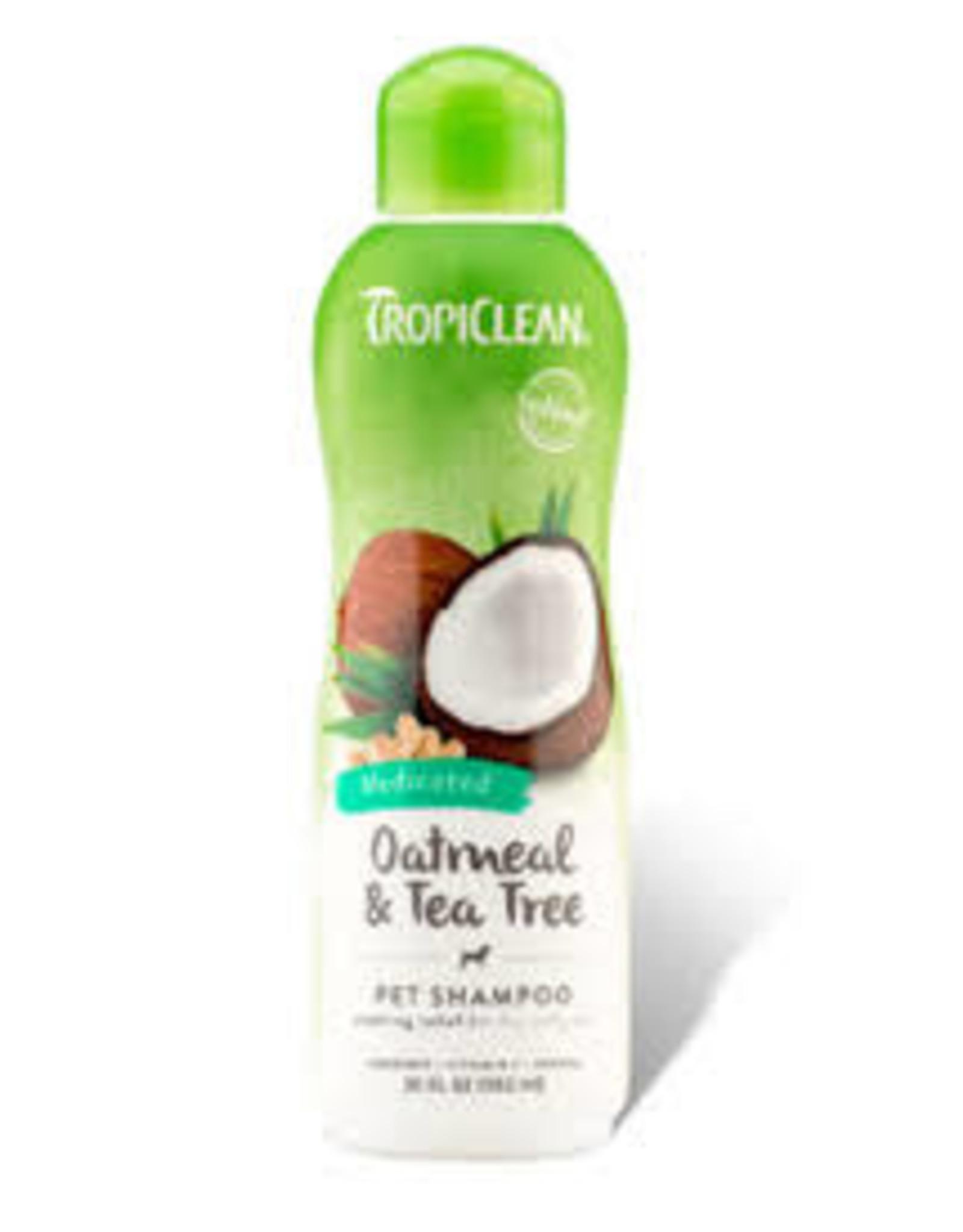 Tropiclean Tropiclean - Oatmeal & Tea Tree Medicated Shampoo