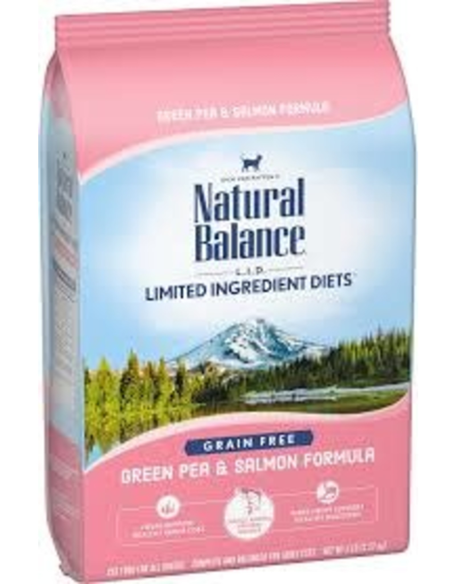 Natural Balance Natural Balance - LID Green Pea & Salmon Cat 5lb