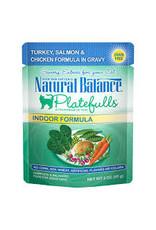 Natural Balance Natural Balance - Indoor Turkey Salmon Chicken in Gravy 3oz