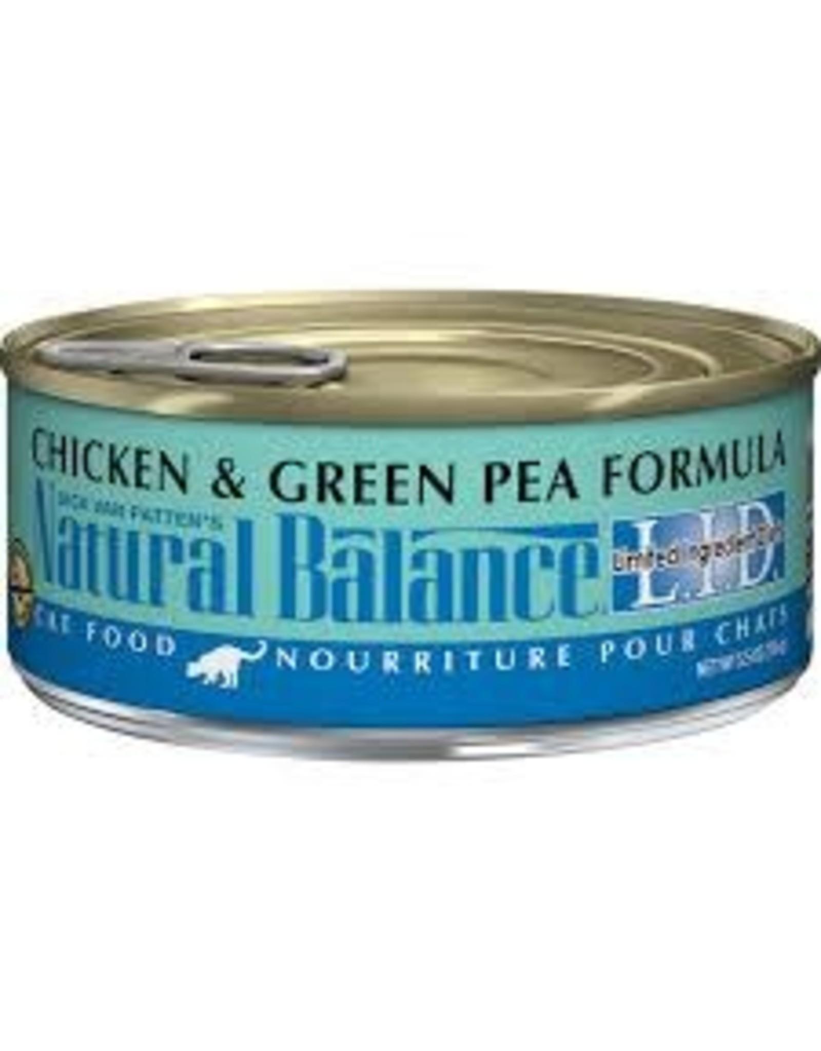Natural Balance Natural Balance - LID Chicken & Green Pea 5.5oz