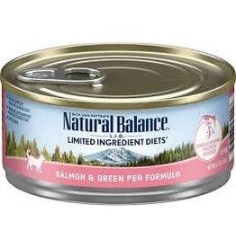 Natural Balance Natural Balance - LID Salmon & Green Pea 5.5oz