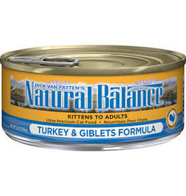 Natural Balance Natural Balance - Turkey & Giblets 5.5oz