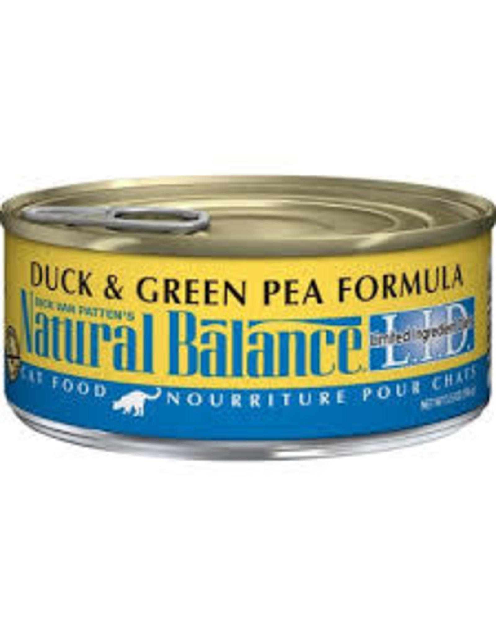 Natural Balance Natural Balance - Duck & Green Pea 5.5oz