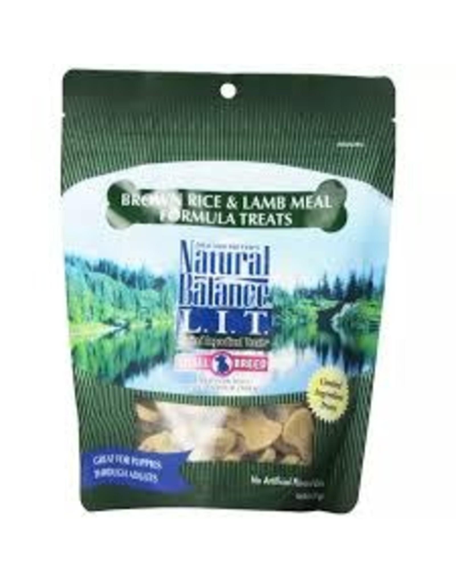 Natural Balance Natural Balance - Brown Rice & Lamb Small Breed 8oz