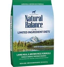 Natural Balance Natural Balance - LID Lamb & Brown Rice Adult Dog