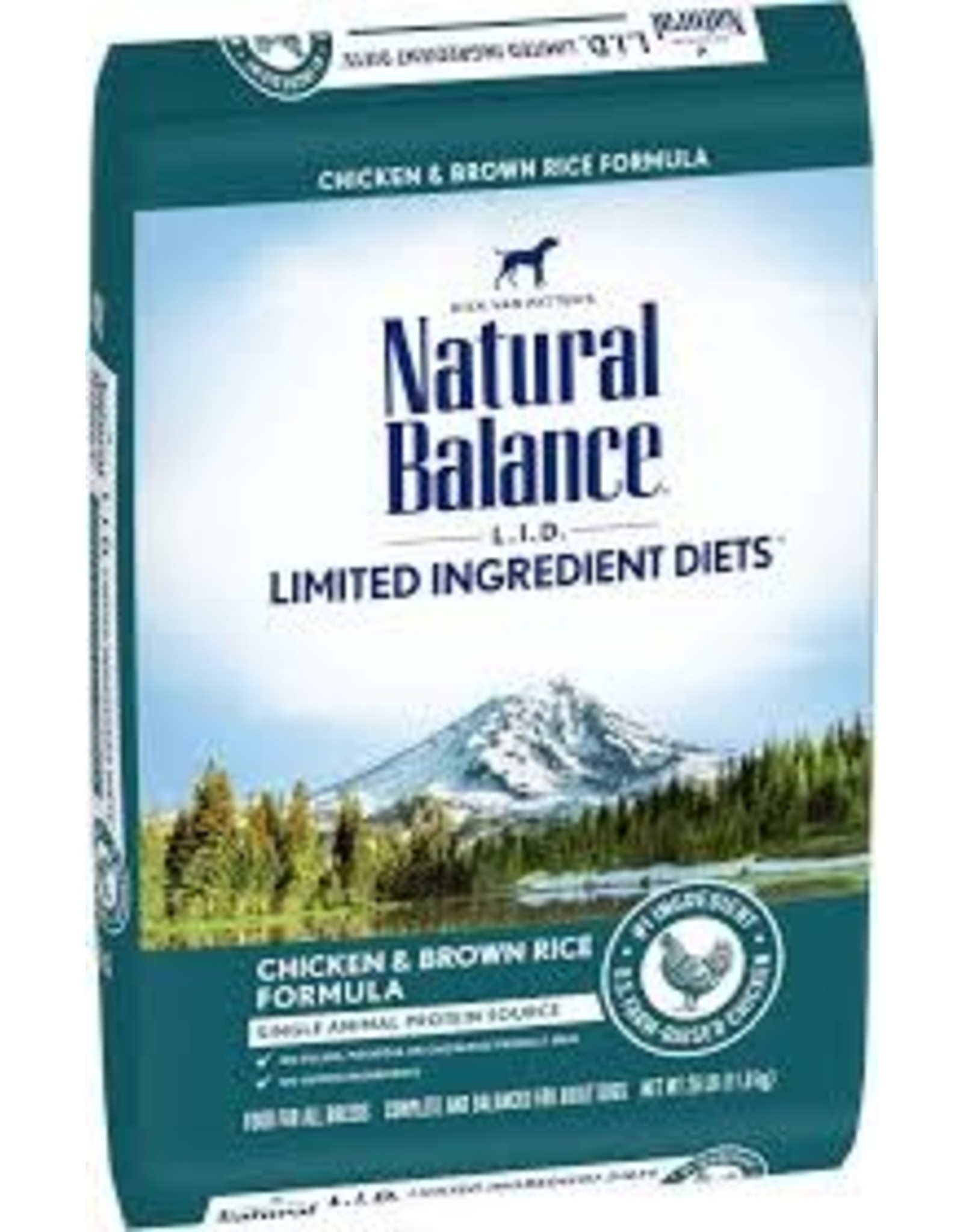 Natural Balance Natural Balance - LID Chicken & Brown Rice Dog