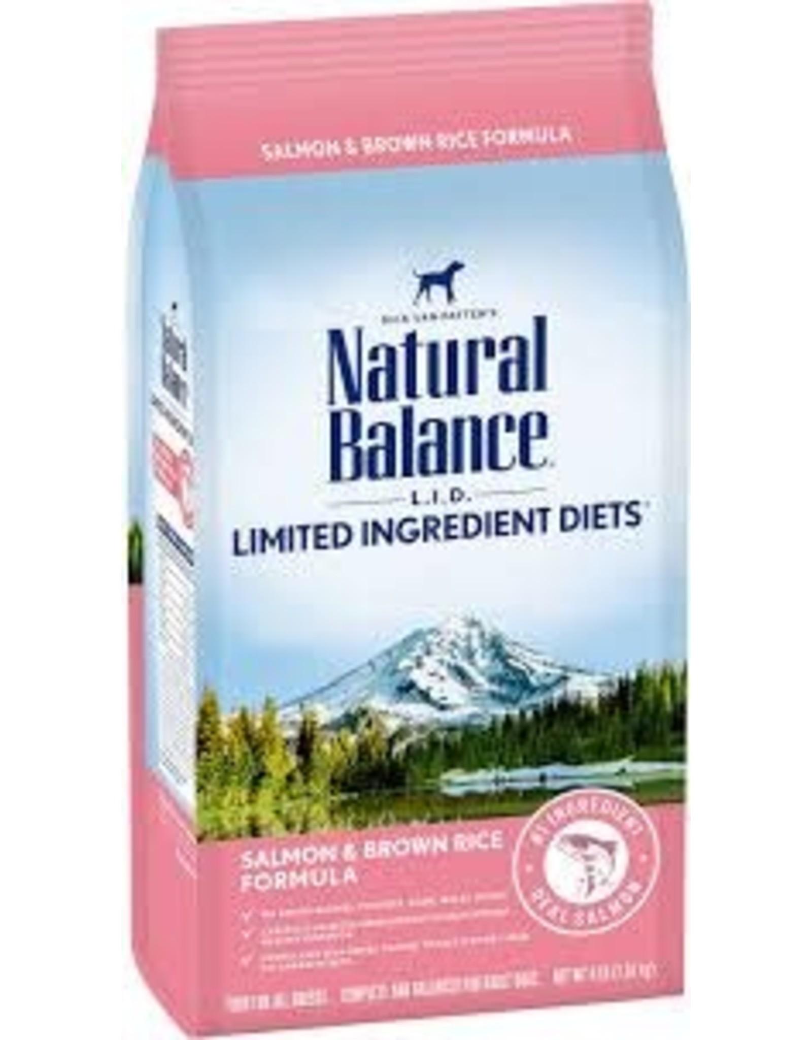 Natural Balance Natural Balance - LID Salmon & Brown Rice Adult Dog