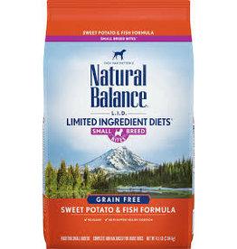 Natural Balance Natural Balance - LID Salmon & Sweet Potato Small Breed 4lb