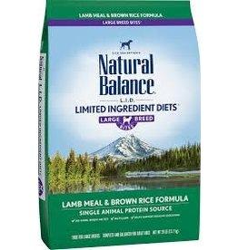 Natural Balance Natural Balance - LID Lamb & Brown Rice Large Breed 26lb
