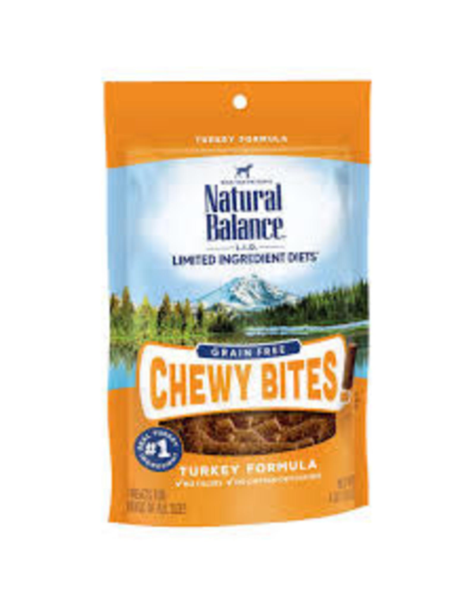 Natural Balance Natural Balance - GF Chewy Bites Turkey 4oz