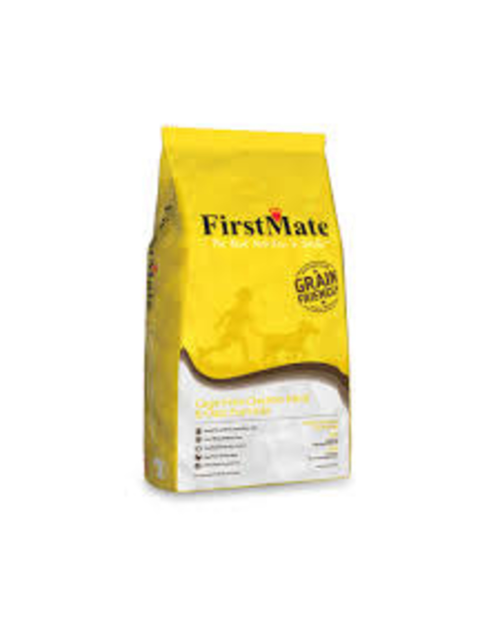 FirstMate FirstMate - Grain friendly Cage Free Chicken & Oats Dog