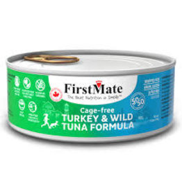 FirstMate FirstMate - GF 50/50 Cage Free Turkey/Wild Tuna Cat 5.5oz