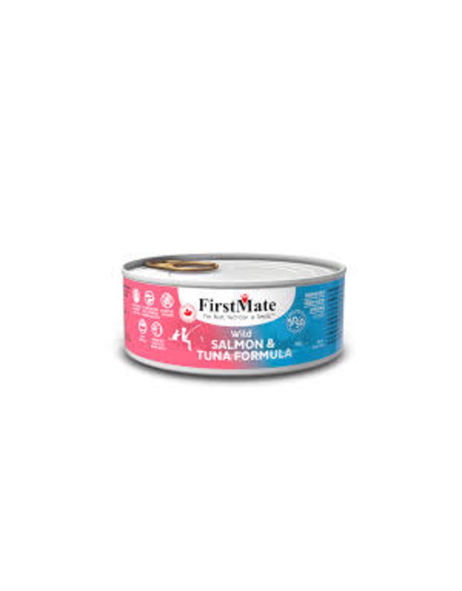 FirstMate FirstMate - GF 50/50 Wild Salmon/Wild Tuna Cat 5.5oz