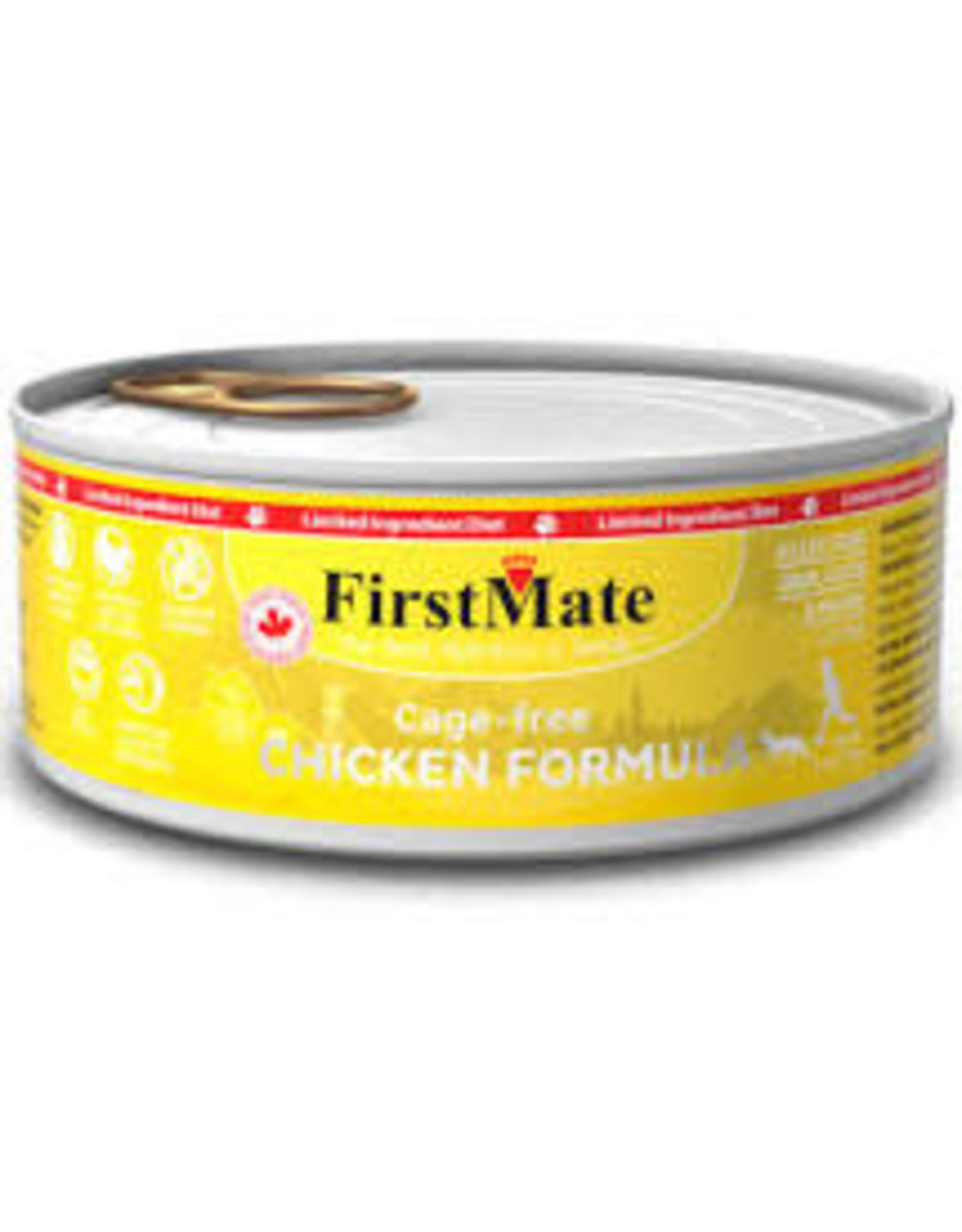 FirstMate FirstMate - LID GF Chicken Cat 5.5oz