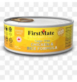 FirstMate FirstMate -Grain Friendly Cage Free Chicken/Rice Cat 5.5oz