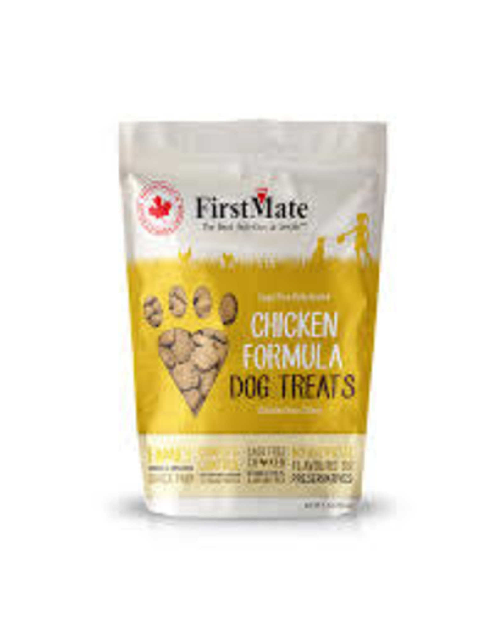 FirstMate FirstMate - GF Dehyrated Treats Cage Free Chicken Dog 5.3oz