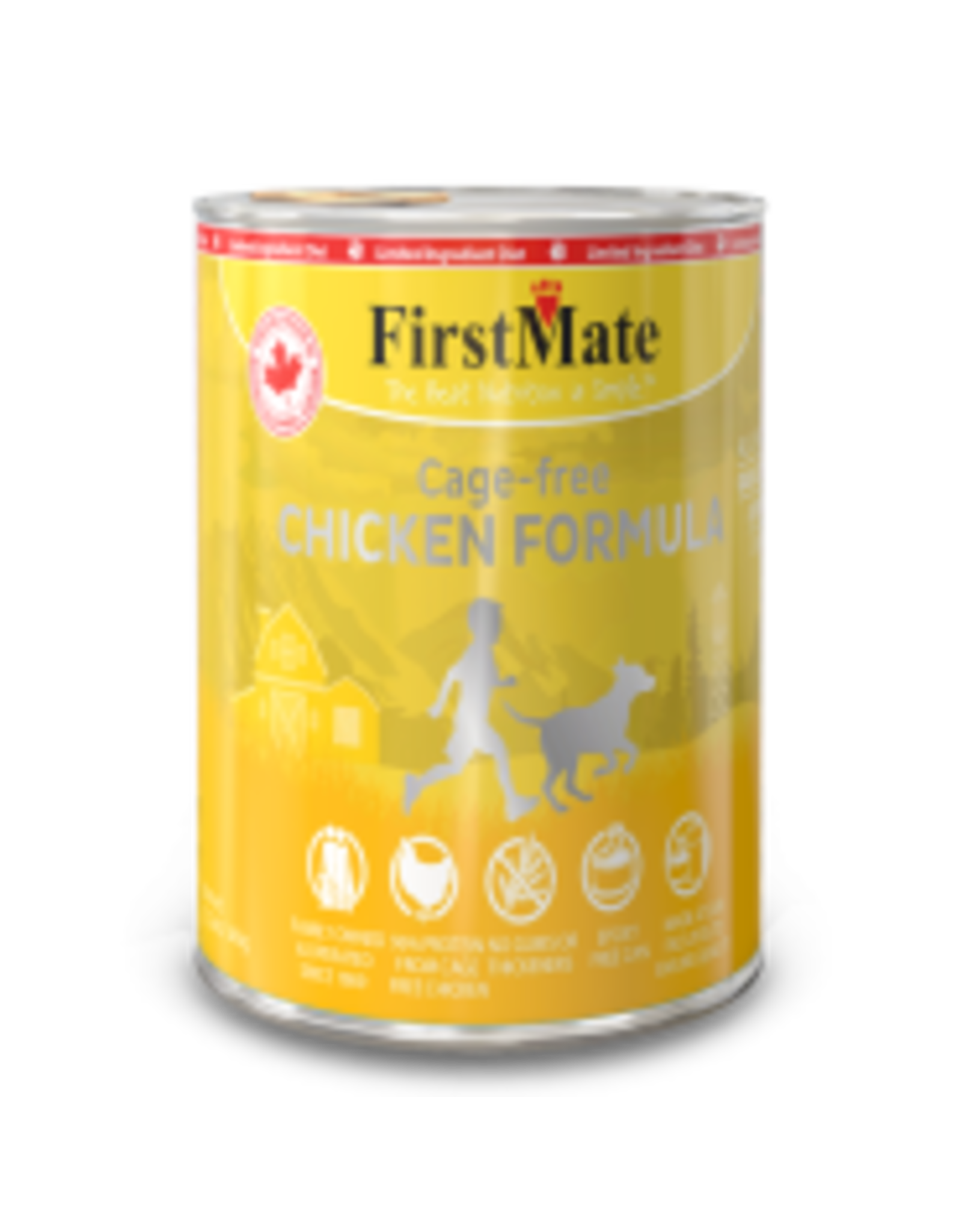 FirstMate FirstMate - LID GF Chicken Dog 12.2oz
