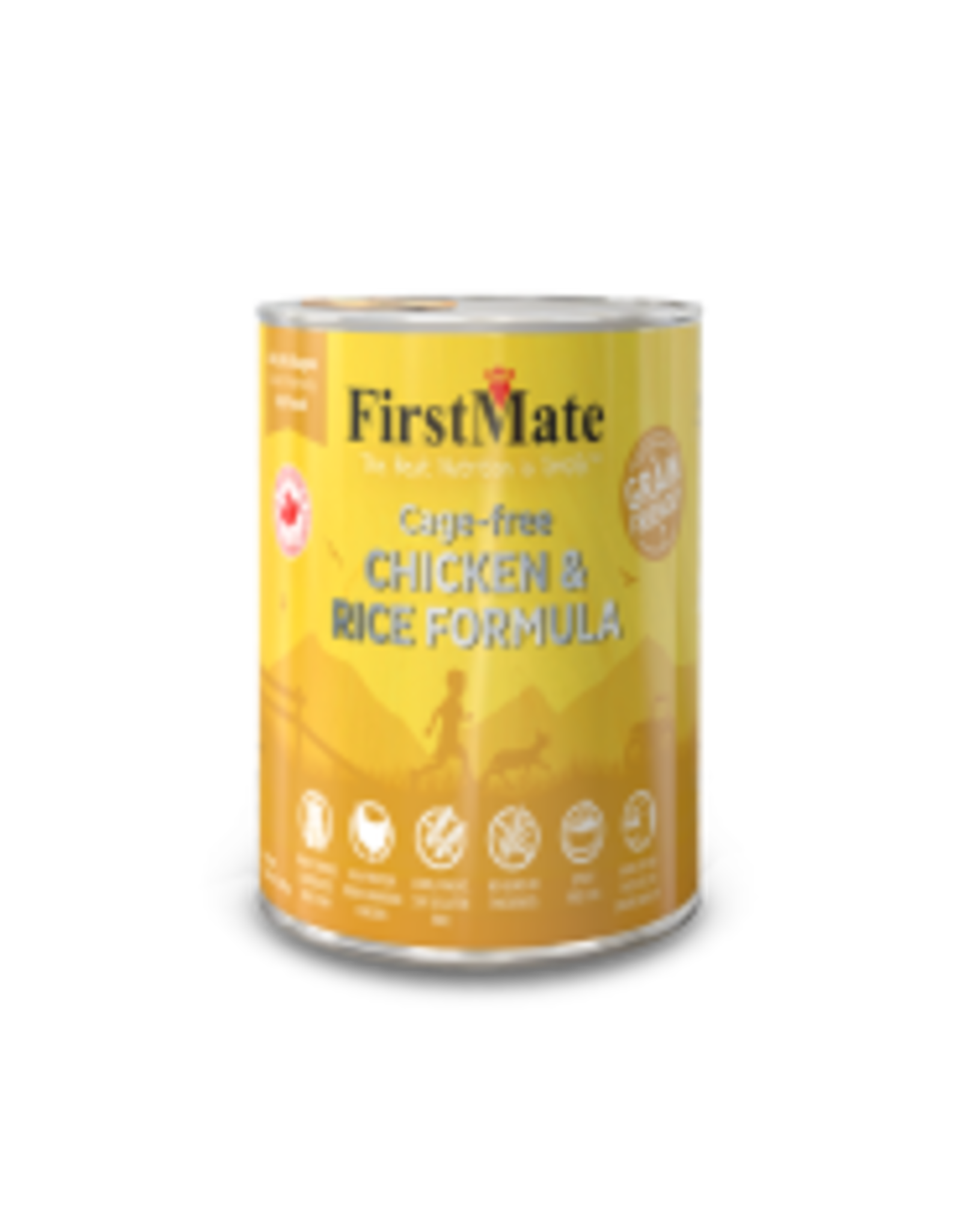 FirstMate FirstMate - Grain Friendly Cage Free Chicken/Rice Dog 12.2oz