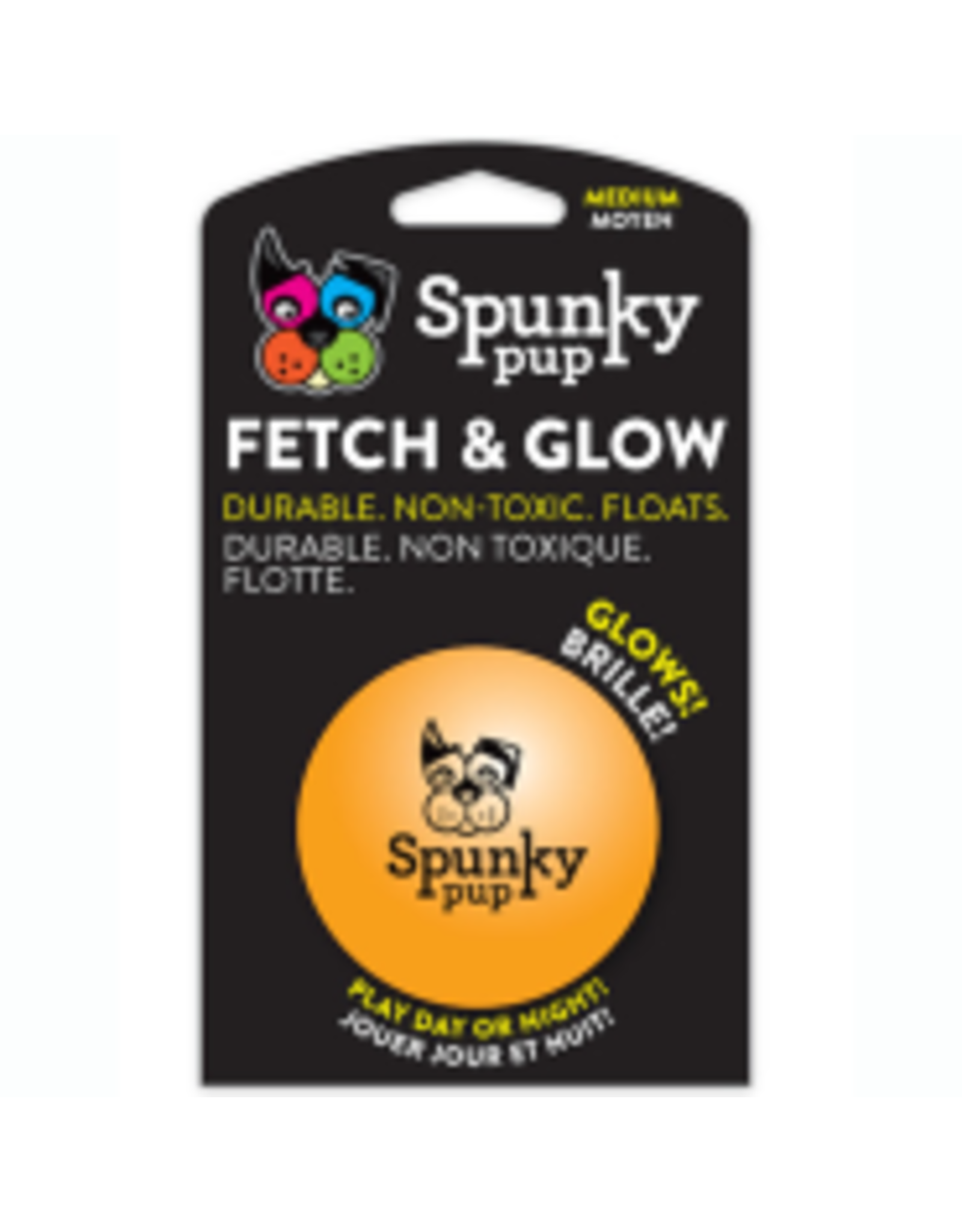 Spunky Pup Spunky Pup - Fetch & Glow Ball