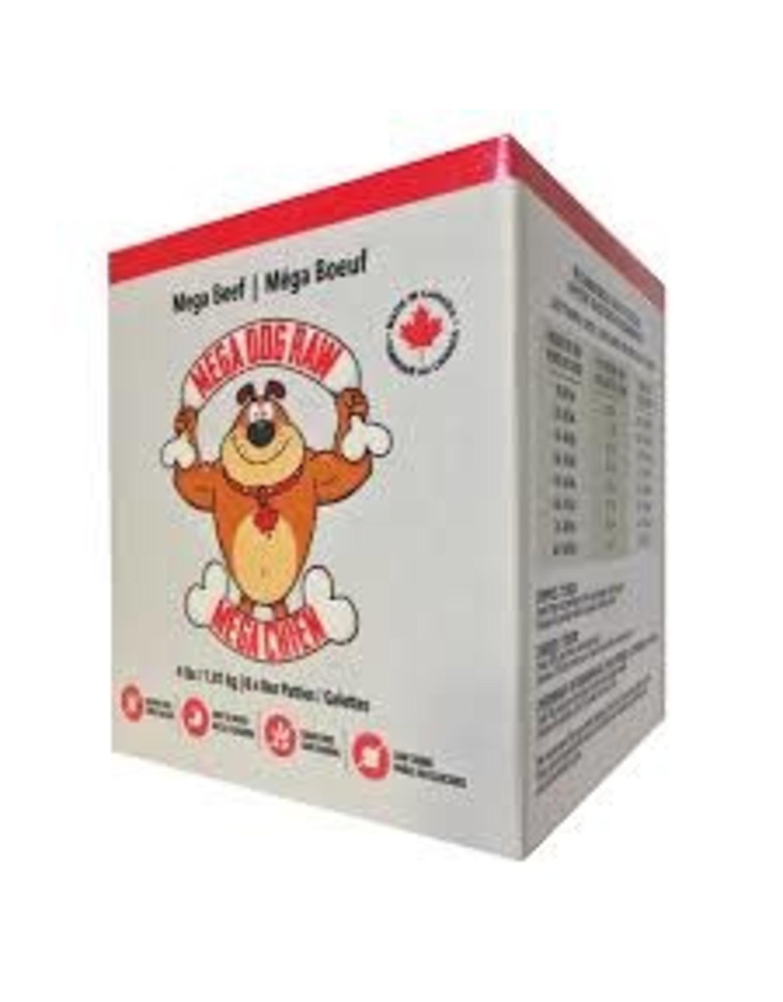 Mega Dog Mega Dog - Beef Patties