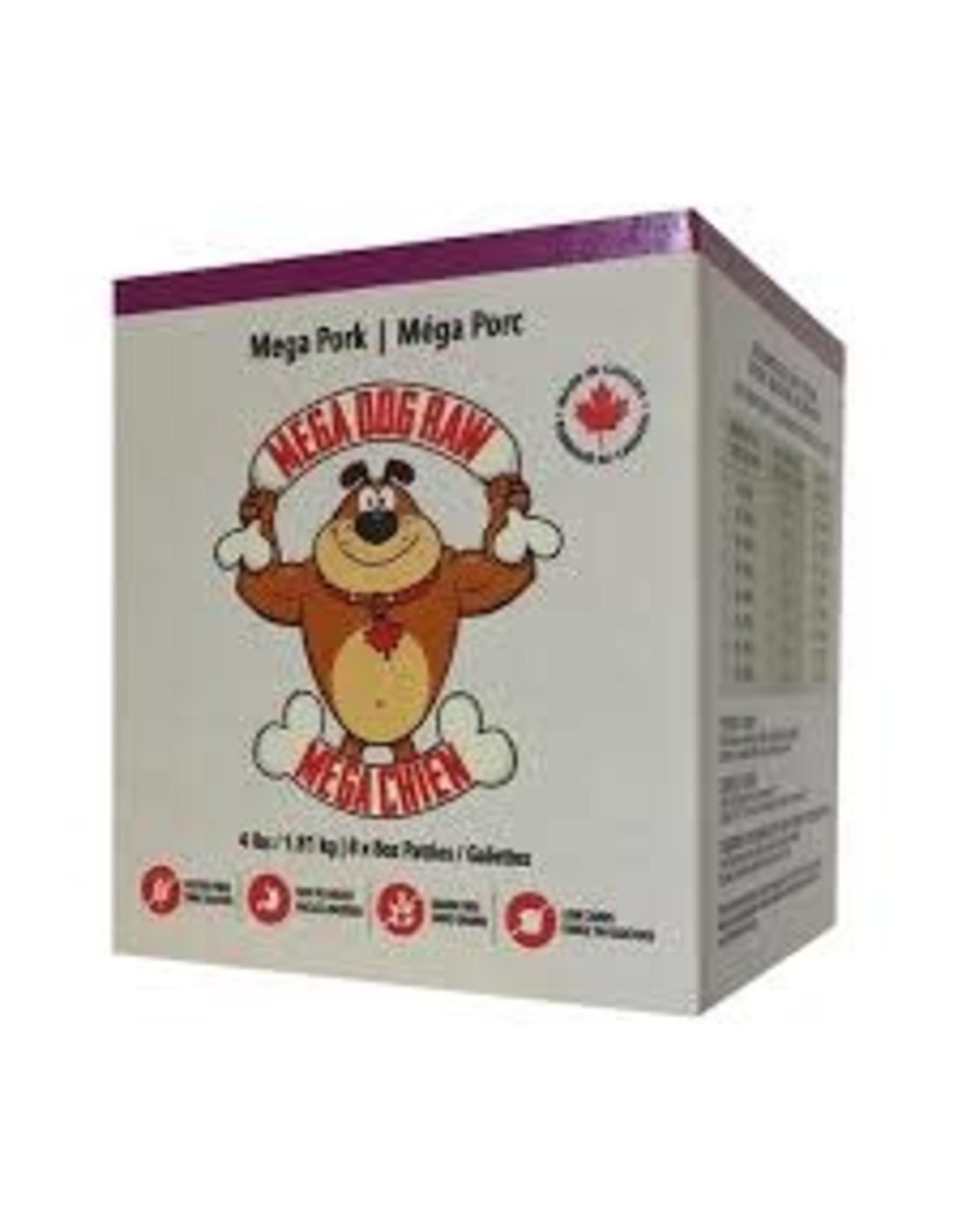 Mega Dog Mega Dog - Pork Patties 4lb