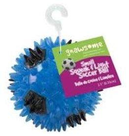 Gnawsome Gnawsome - Squeaker & Light Soccer Ball