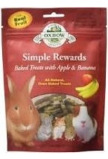 Oxbow Oxbow - Simple Rewards Apple & Banana Treats 85g