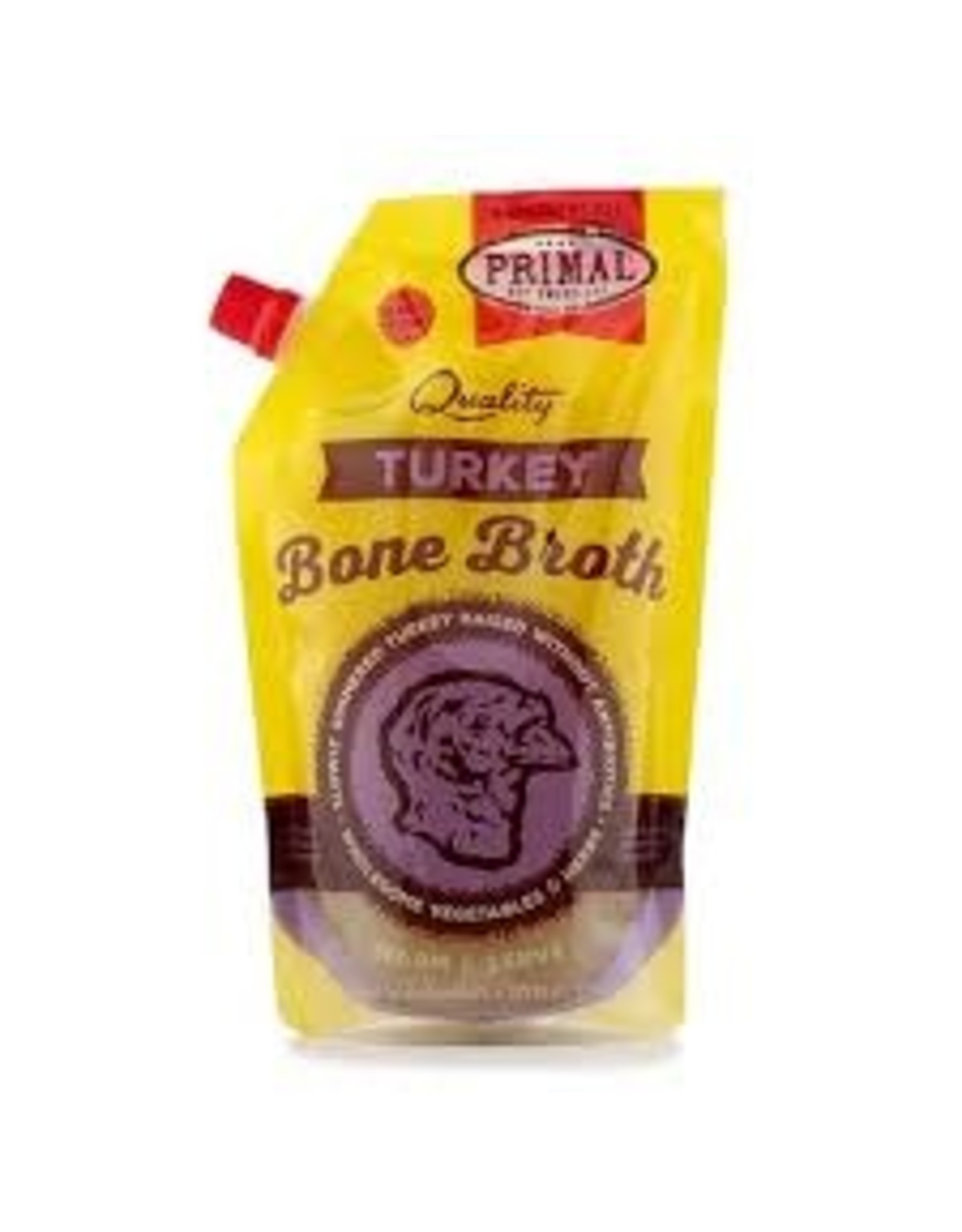 Primal Primal - Frozen Bone Broth Turkey