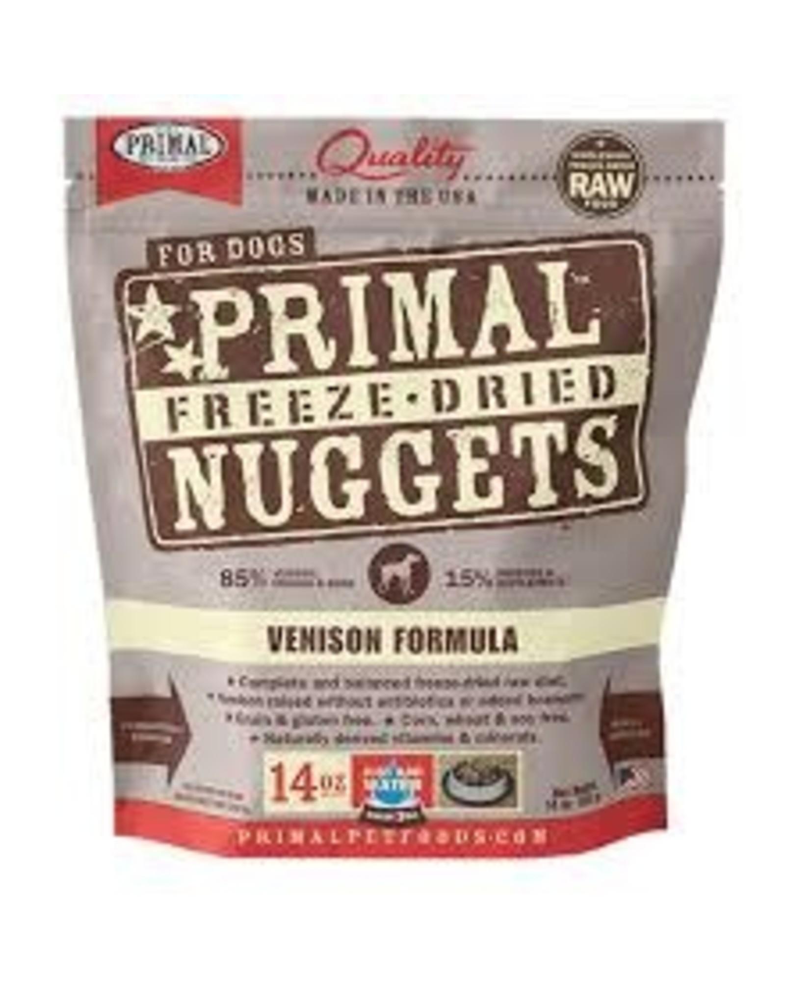Primal Primal - Freeze Dried Venison Dog 14oz