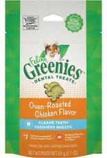 Greenies Greenies - Dental Oven Roasted Chicken Cat 2.1oz