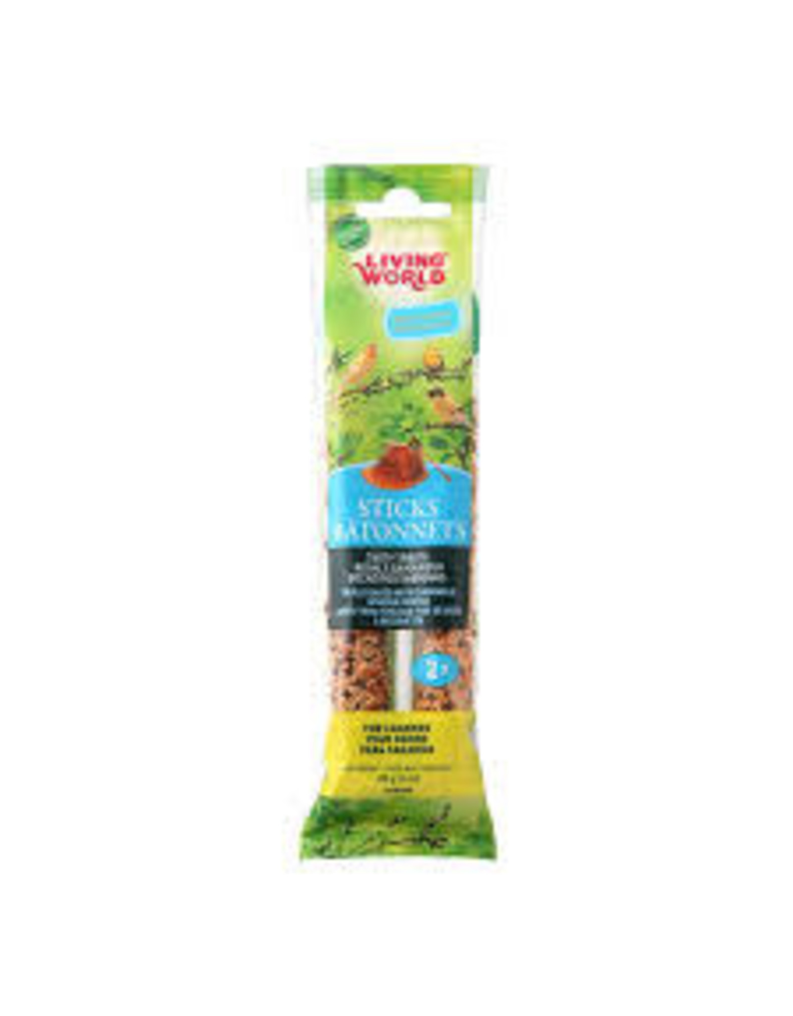 Living World Living World - Canary Honey Stick 2pk