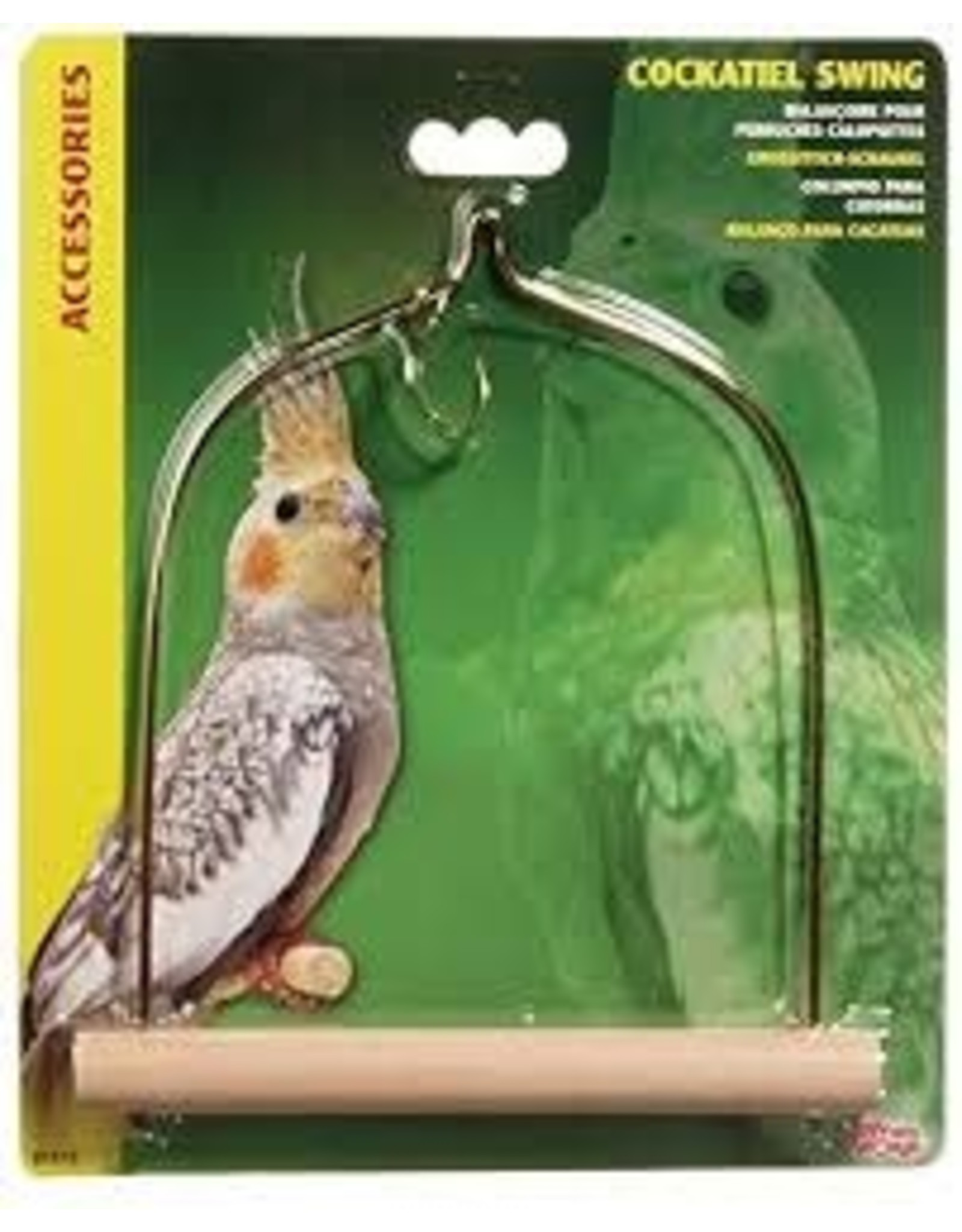 Living World Living World - Wooden Bird Swing