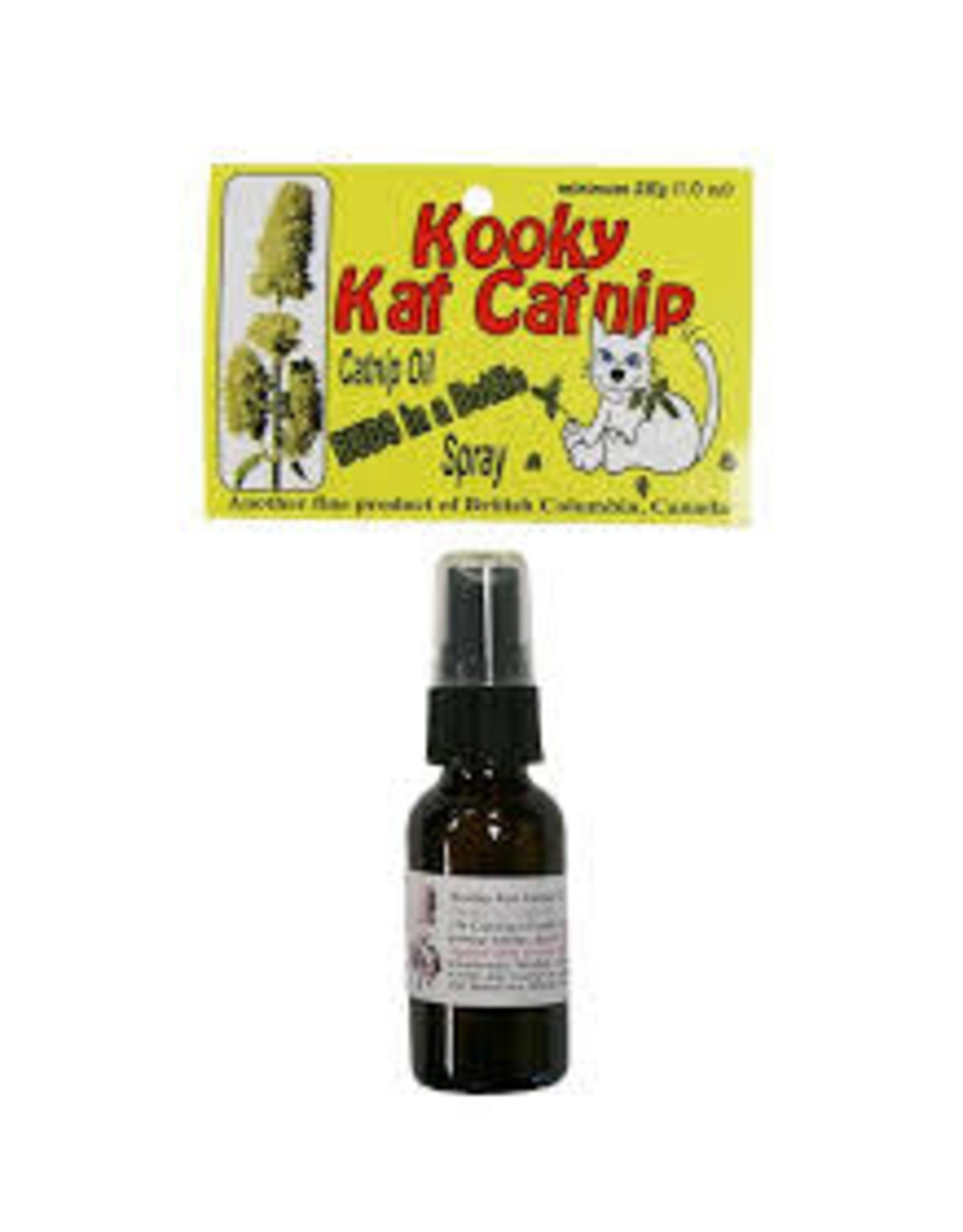 Kooky Kat Catnip Kooky Cat Catnip - Budz in a Bottle 1% Catnip Oil Spray 28ml